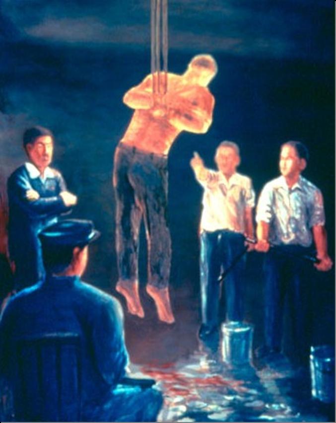Torturert
