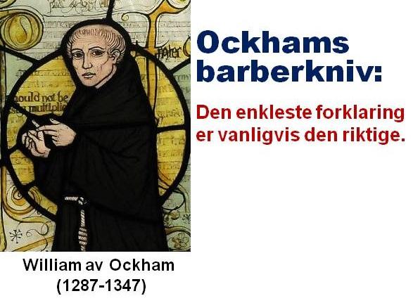 Ockhams barberkniv