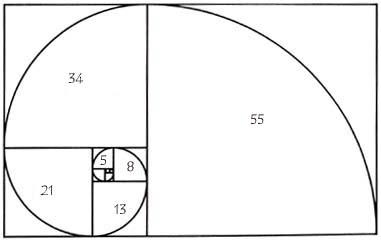 Fibonacci-spiralen
