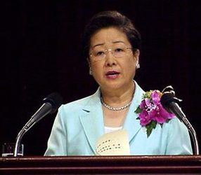 Fru Moon, Seoul 4. juli 2001