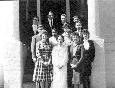 Medlemmer i San Francisco i 1965. Young Oon Kim, nr 2 fv foran