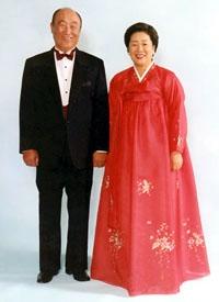 pastor og fru Moon